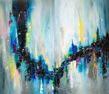 Falling into infinity (diptych)