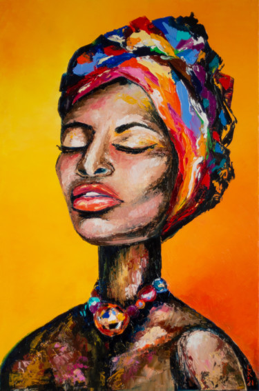 Black mystical woman