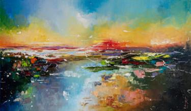 Impression of the sea sunset